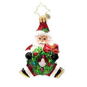 Radko LITTLE GEMS Santa Baby Gem ornament NEW