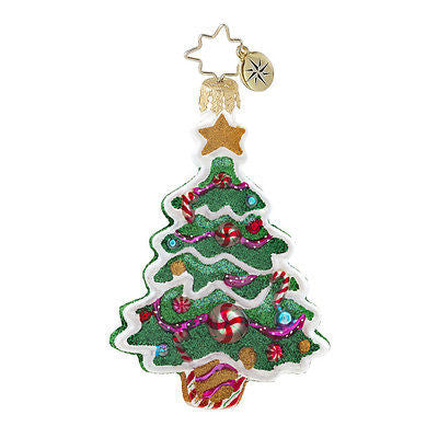 Radko Little Gems SWEET TOOTH TREE gem ornament NEW