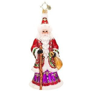 Radko NORTHERN FATHER Santa Bejeweled LUXE ornament NEW