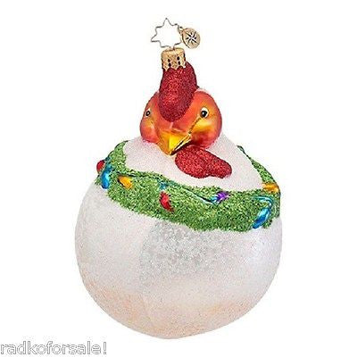Radko HENRIETTA the Chicken Hen ornament NEW