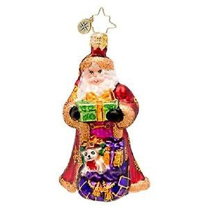 Christopher Radko Little Gem From Russia with Love Santa ornament
