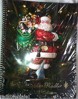 Christopher Radko 2013 COLOR CATALOG NEW sealed 164 pages