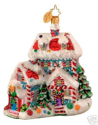 Radko CANDYLAND SUITE House Ornament New