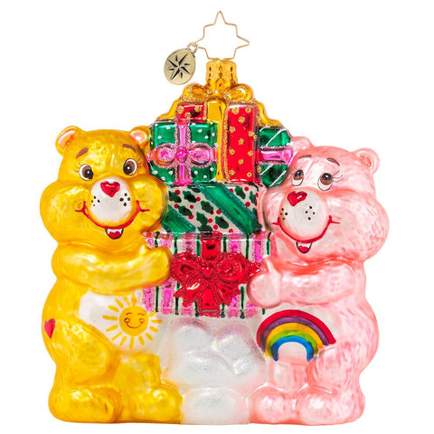 Christopher Radko With Love and CARE BEARS Ornament