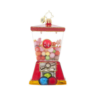 Radko 3 For 5 Gumballl Machine kids Bubble Gum ornament NEW