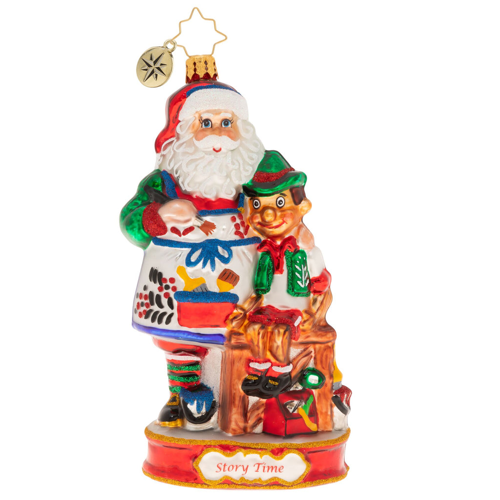 Christopher Radko A Magnificent Marionette Santa Pinocchio Ornament