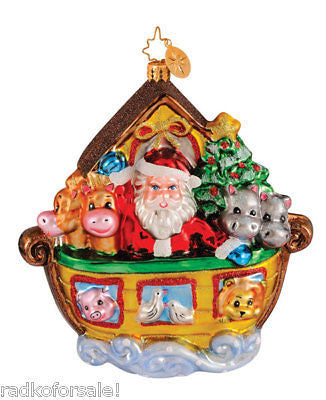 Radko NOAHS ARK Two if by Sea ornament NEW