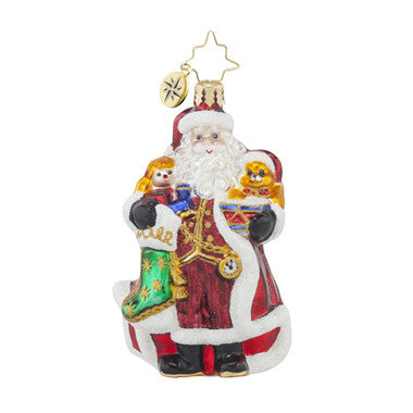 Christopher Radko A CHRISTMAS CLASSIC Santa Gem ornament