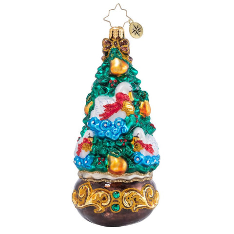 Christopher Radko 12 Days Tree Series Seven Swans-A-Swimming Christmas Ornament
