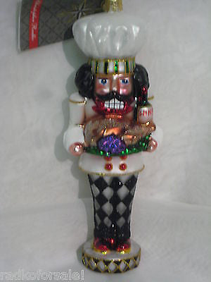 Radko COOKING CRACKER Nutcracker ornament NEW