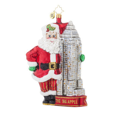 Radko MADE IN MANHATTAN  NYC New York ornament NEW