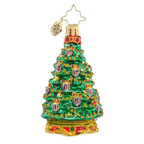 Christopher Radko  NOBLE FIR TREE gem ornament NEW