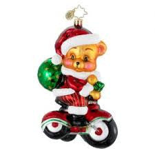 Radko PEDAL PUSHIN Kids Bike Tricycle ornament NEW