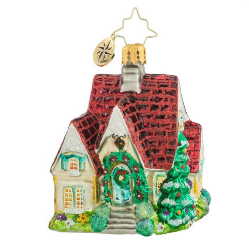 Radko Little Gems PERFECT COTTAGE House gem ornament NEW