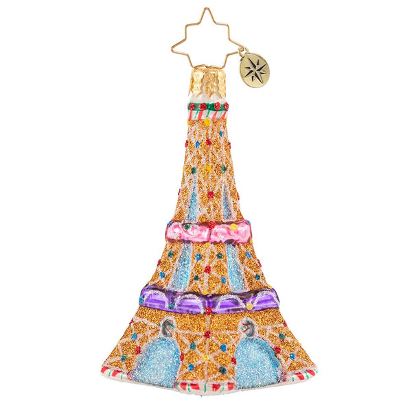 Christopher Radko Paris Is Sweet Gem Eiffel Tower Ornament