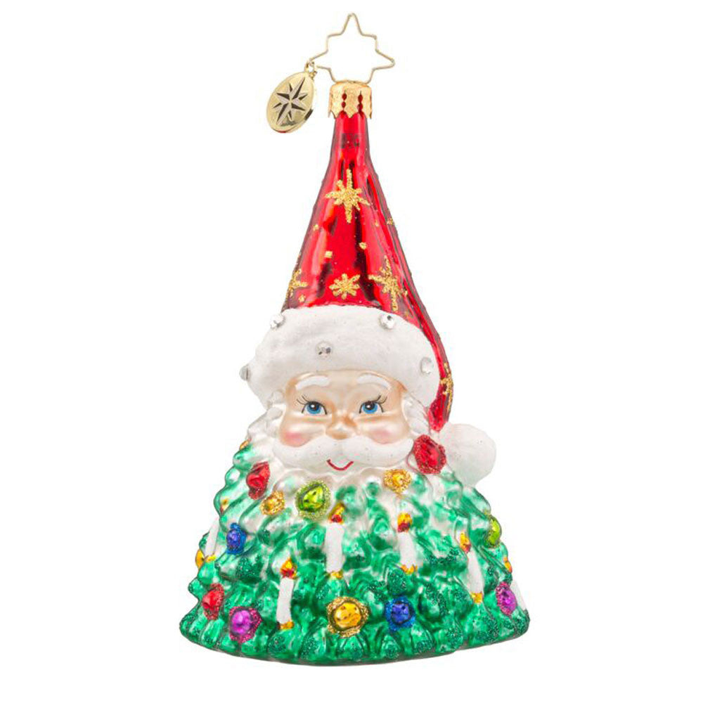 Radko ST NICK BRILLIANCE Santa Tree ornament NEW