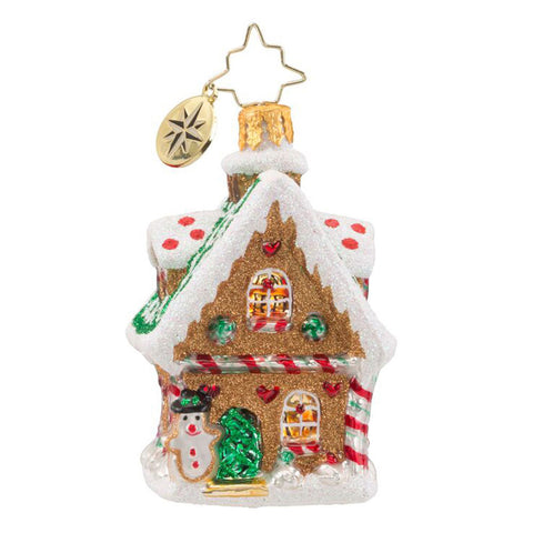 Radko Little Gems SWEET GINGER COTTAGE House gem ornament NEW