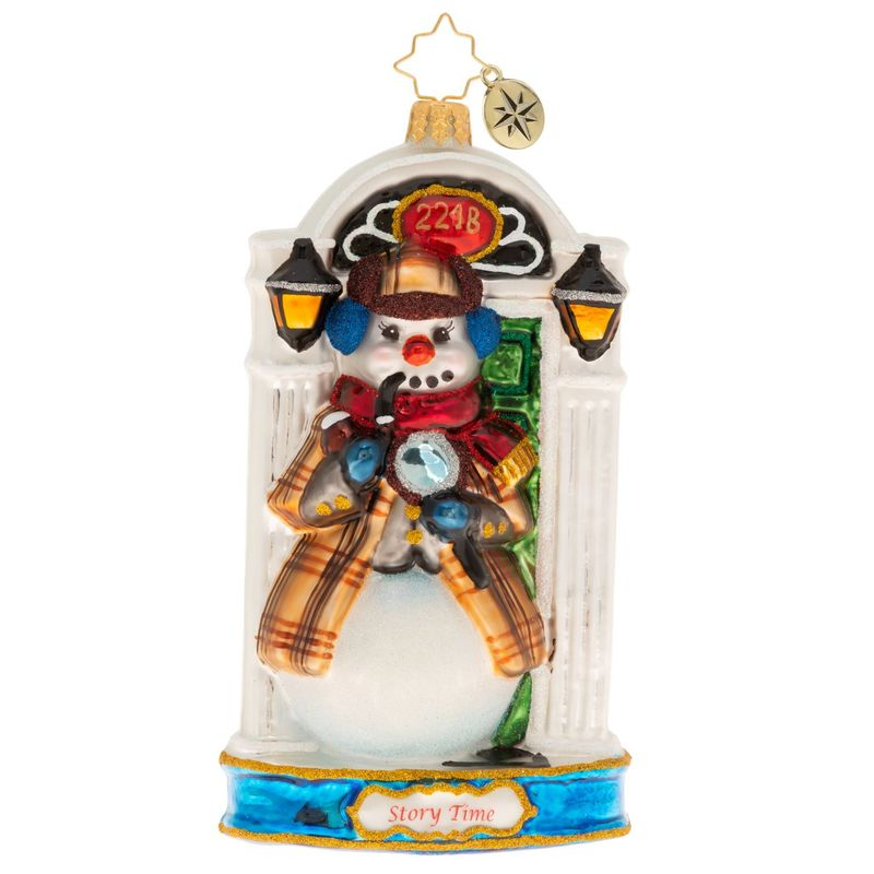 Christopher Radko A Tale Of Mystery & Intrigue Sherlock Holmes Ornament