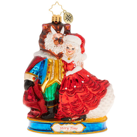 Christopher Radko La Belle Of The Ball Beauty and the Beast Ornament