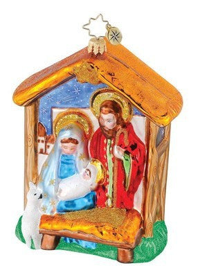Radko BETHLEHEM BLESSING Nativity ornament NEW 1015131