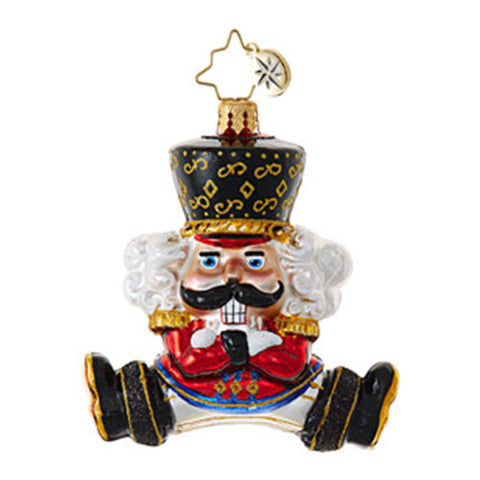 Christopher Radko Bolshoi Guard Little Gem Russian Dancer Ornament NEW