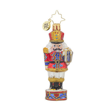 Radko Little Gems BRIGADIER MAJOR CRACKER GEM Nutcracker ornament NEW