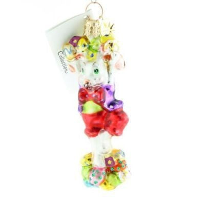 Radko Little Gem BUNNY BONANZA GEM Easter ornament NEW