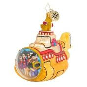Christopher Radko Beatles Captain Captain Submarine ornament