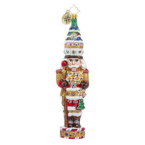 Radko Candy Cracker Nutcracker Christmas ornament