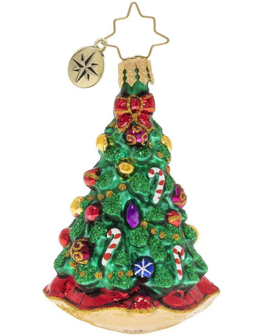 Christopher Radko Christmas Tradition Tree Gem Ornament