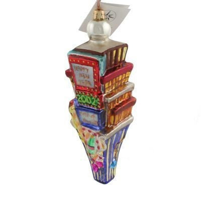Radko 2000 Dated TIMES SQUARE Happy New Year Ornament NEW