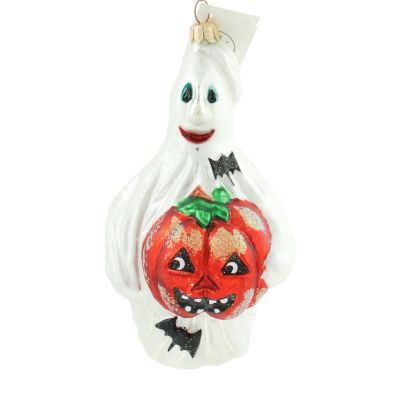 Radko Halloween JACK AND GHOUL Ghost ornament 1998