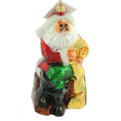 Radko MAKING HIS LIST Santa 1997 ornament