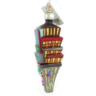 Christopher Radko Dated 2000 TIMES SQUARE Happy New Year Ornament