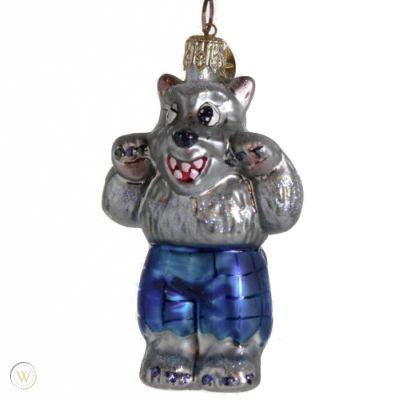 Christopher Radko Halloween WOLFIE the Werewolf Little Gem ornament