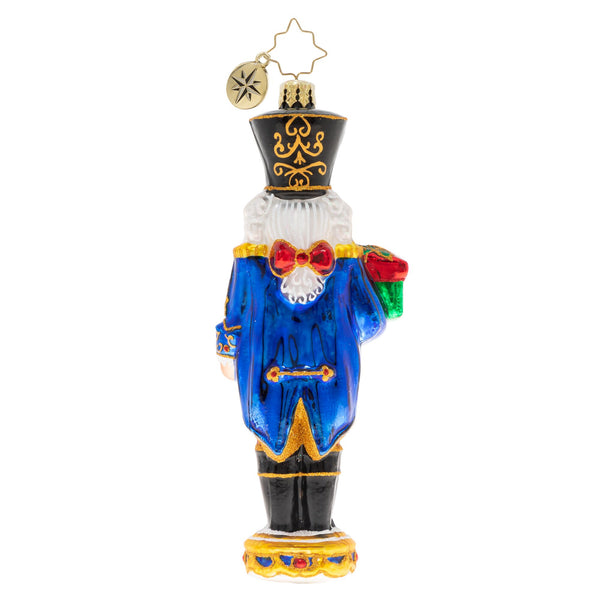 Christopher Radko 2020 Dated Time To Get Cracking Nutcracker Ornament