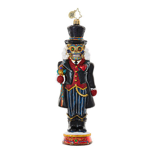 Radko Dia De Los Cracker Nutcracker ornament New