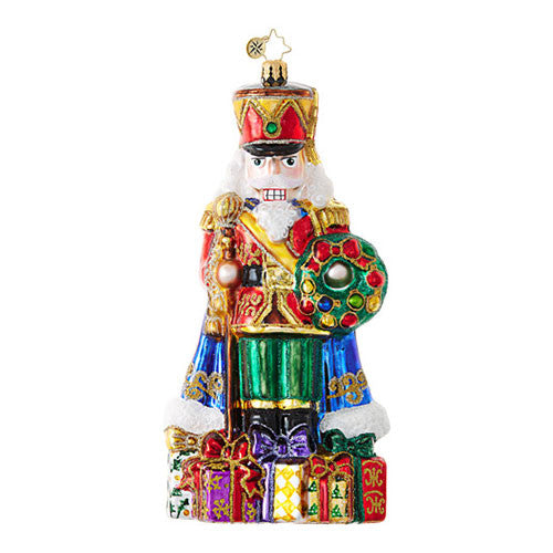 Radko DISTINGUISHED NUT Nutcracker Limited Edition Ornament Retired SALE
