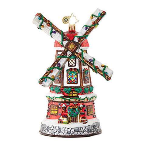 Christopher Radko DUTCH DELIGHT Windmill Ornament