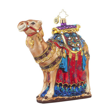 Radko FROM THE FAR EAST Nativity Camel Ornament ( Pre-Order 2017)