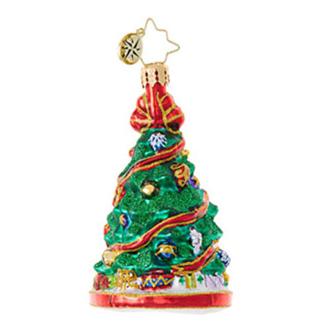 Radko Little Gems FESTOONED FIR Gem Christmas Tree Ornament New 2017