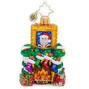 Christopher Radko 2020 Dated Fireside Christmas Gem ornament