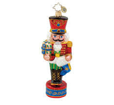 Radko FIRST OF MANY Christmas Nutcracker ornament NEW