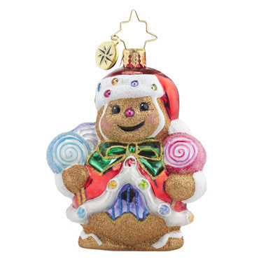 Radko Little Gems GINGER SWEET CLAUS Santa Gem ornament NEW