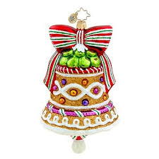 Radko GINGER BELL Sweets Christmas ornament NEW