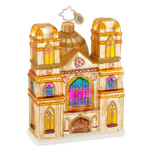 Radko GOTHIC SPLENDOR Cathedral ornament NEW