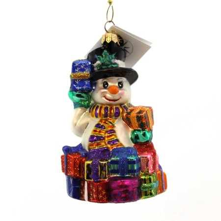 Christopher Radko GREAT GIFTS GALORE Snowman ornament