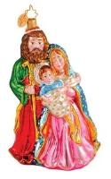 Christopher Radko Heavenly Family Nativity Holy Ornament