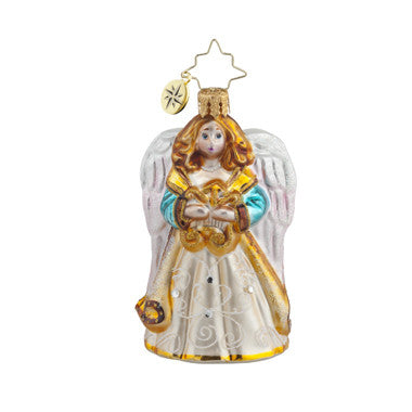 Radko Little Gems HEAVENLY SERENADE Angel GEM ornament NEW