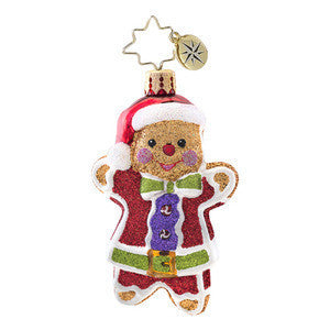 Radko Little Gems GINGER JACK GEM Gingerbread Man ornament NEW